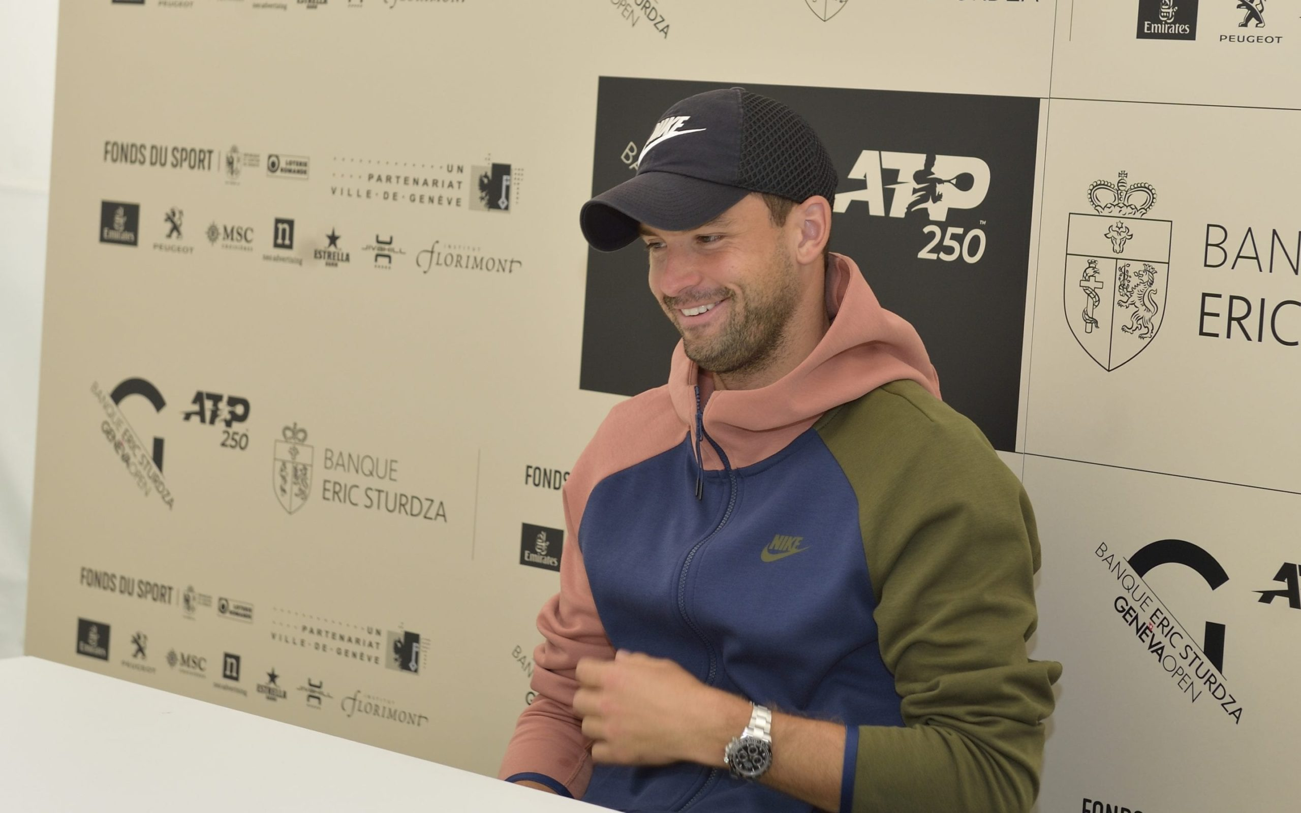 Dimitrov confirms his place, Gulbis gets frustrated and wins