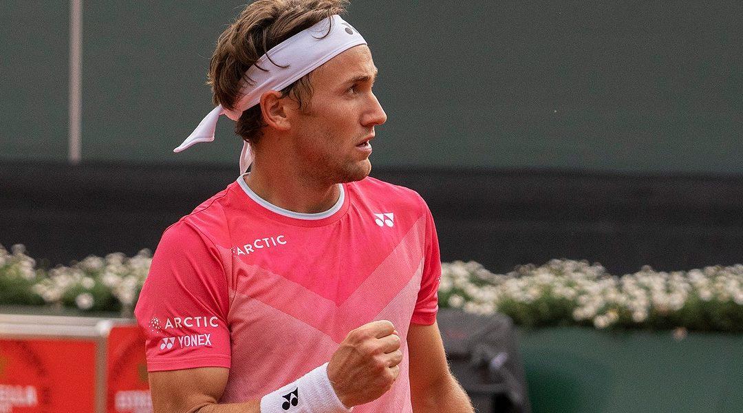 Caspar Ruud : une quatrième demi-finale de rang