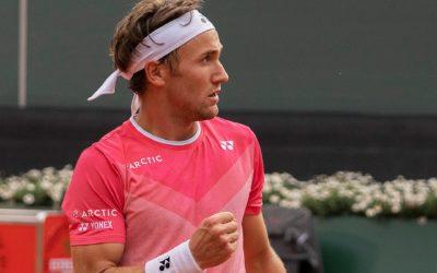 Caspar Ruud: a fourth semi-final in a row